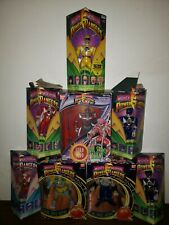 Mighty Morphin Power Rangers Action Figures Lot