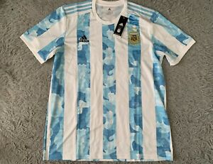 Argentina Home Football Soccer Shirt Jersey Copa America 2021 Adidas XL GE5475