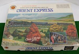 "BACHMANN ""ORIENT EXPRESS"" HO SCALE ELECTRIC TRAIN SET #40-0185 RARE!!"