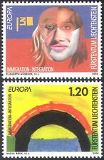 Liechtenstein 2006 Europa/Integration/Art/Paintings/Face/Bridge 2v set (n42360)