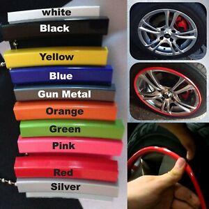 "Alloy Wheel Protector 13 - 16 17 18 19 20 21 22"" Trim Rim Protectors 8M 1 STRIP"