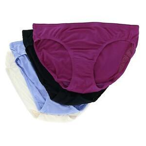New Fruit of the Loom Women's Breathable Micro Mesh Bikini Underwear (4 Pair