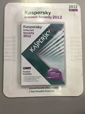 Kaspersky Internet Security 2012 Brand New Sealed