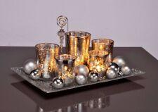 5er Set Teelichter Schale Deko Dekoschale Tisch