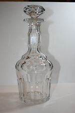 Antique 19th Century Irish-Anglo Crystal Decanter 1830-50 Post Regency Style
