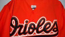 Majestic Short Sleeve National League Button-up Jersey Men's M Baltimore Orioles