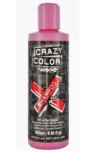 CRAZY COLOR SHAMPOO FOR MAINTAINING HAIR DYE (SULFATE FREE)  Deep Conditioner
