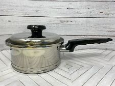 New listing Lifetime T304 Cc Stainless Steel 1.5 quart Sauce Pan made in Usa Excellent cond!