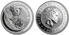 1oz 999 Silver 1$ Australian Koala 2015 Bullion Coin (UNC)