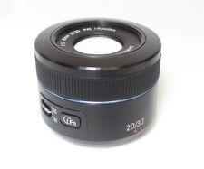 Samsung NX 45mm f/1.8 Camera Lens - Black (EX-S45ADB/US)