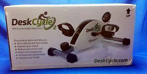 DeskCycle 2 Under Desk Bike Pedal Exerciser with Adjustable Leg - Mini Exercise