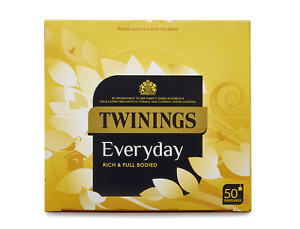 Twinings Everyday Envelope Tea Bags – 6 x 50 (300 bags) - shopcoffeeuk