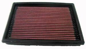 K&N Hi-Flow Performance Air Filter 33-2813 fits Peugeot 206 1.4 i (55kw), 1.6...
