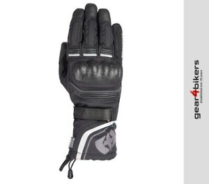 Oxford Montreal 4.0 Dry2Dry Stealth Black Motorcycle Glove Gloves Winter Warm