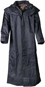 Scippis Stockman Coat Regenmantel - schwarz - Größe L, neu + OVP