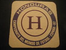 HONDURAS. POSAVASOS CAMPEONATO MUNDIAL DE FUTBOL ESPAÑA 82