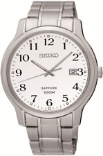 SEIKO SGHE67P1 Sapphire Glass Clear Dial Date WR 100m  2 Year Guarantee RRP £189