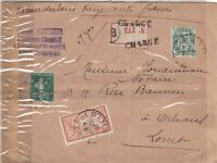 france 1927 stamps cover Ref 8473