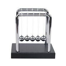 Newtons Science Energy Conservation Laws Toy Cradle Steel Balance Balls