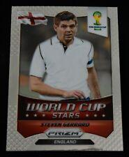 2014 Panini Prizm World Cup STARS #12 Steven Gerrard England