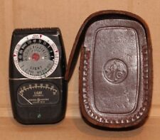VINTAGE PHOTOGRAPHY CAMERA GENERAL ELECTRIC LIGHT METER GREAT DISPLAY PIECE