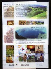 Südkorea Block 662,667,670,671 Funde und Dynastien postfrisch