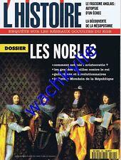 L'histoire n°194 - 12/1995 Noblesse Aristocratie Savanarole Mosley