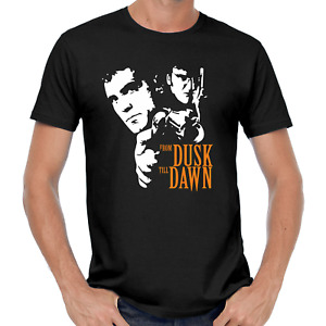 From Dusk Till Dawn Quentin Tarantino Kult Retro Movie Film TV Fan DVD T-Shirt