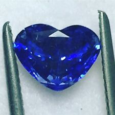 Natural Certified Heart Shaped Blue Sapphire 2.26 Carat Loose Gemstone