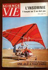 Science et vie n°543 du 12/1962; Insomnie; 1 français sur 3 ne dort pas/ Rogallo
