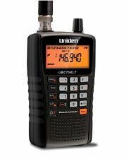 Radio Scanner UBC75XLT Uniden Bearcat Airband Marine 300 Channel with Close Call