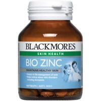 BLACKMORES BIO ZINC SKIN HEALTH 168 TABS RELIEVE SKIN DISORDERS ACNE DERMATITIS