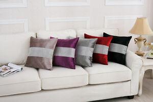 Diamante Cushion Throw Pillow Case Bed Sofa Home Decor Beaded Waist Back Cushion