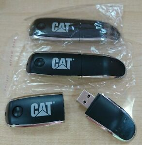 BNIB - 3 CAT Branded USB Memory Sticks