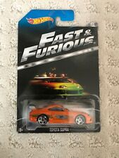 Hot Wheels The Fast and the Furious Movie Toyota Supra Orange