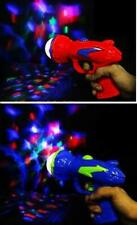 2 PIECES PSYCHEDELIC TRIPPY LASER LIGHT SHOW SPACE TOY PISTOL WITH NOISE  alien