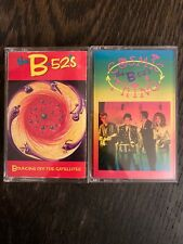 The B-52's Cassette Tape Lot Cosmic Thing - Bouncing Off The Satellites VG+