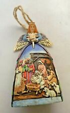 Jim Shore Angel Nativity Holy Gown Hanging Ornament Christmas Holiday 2005 w/Box