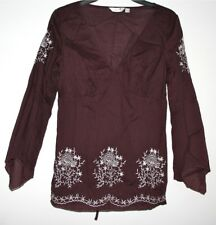 *NEXT* PRETTY LIGHTWEIGHT COTTON EMBROIDERED CRINKLE TOP SIZE 8/10