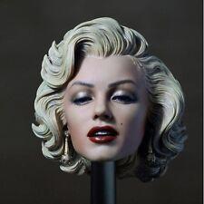 "1:6 Scale Marilyn Monroe Head Sculpt Painted F/12"" Female Phicen Figure Body Toy"