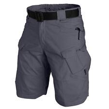 HELIKON TEX UTK URBAN TACTICAL CARGO SHORTS PANTS Hose kurz shadow grey L  Large
