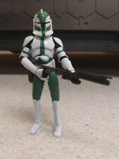 Star Wars Clone Wars Clone Commander Gree Hasbro 2008  3.75 Action Figure