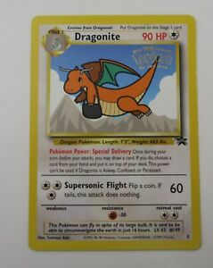 Pokemon Cards: Wizards Black Star Promo: Dragonite 5 LP #A
