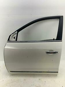 2008-2017 BUICK ENCLAVE LEFT FRONT DOOR SHELL WHITE DIAMOND TRICOAT (800) OEM