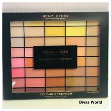 Revolution Makeup Colour Spectrum Pallete with 40 Shades of Pressed Face Pigment