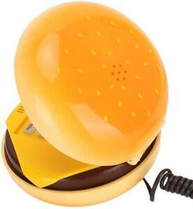Hamburger Phone,Cheeseburger Phone,Landline Corded Phone,Desktop Phone,Kids Gift