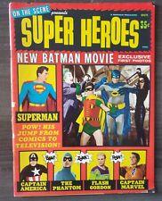 On The Scene Presents Super Heroes No 1 - Warren Publications!