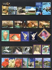 BERMUDA YEARS 2000-2003 COMMEMORATIVES SETS & ODDS GOOD TO FINE USED x 45 STAMPS