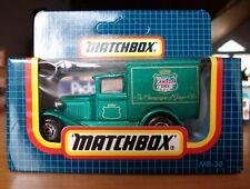 "MATCHBOX  "" Ford Modell A "" mit "" Canada Dry "" Werbung, neu in OVP"