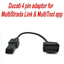 Fit Ducati for MultiStrada Link MultiTool App Android OBD2 Diagnostic tool 4 pin